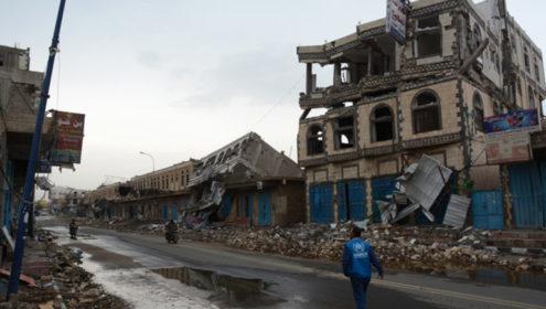 Airstrikes in Yemen