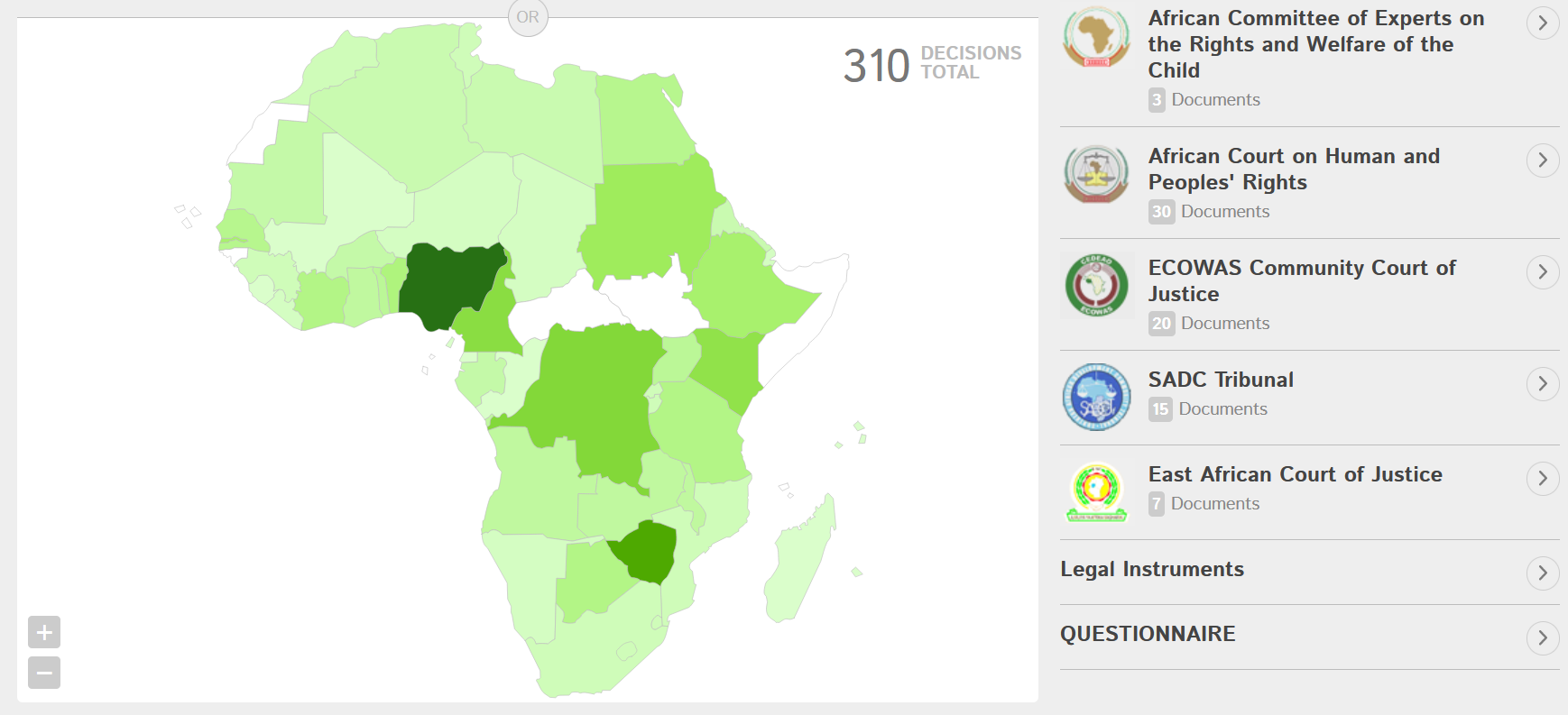 African Case Law Analyser