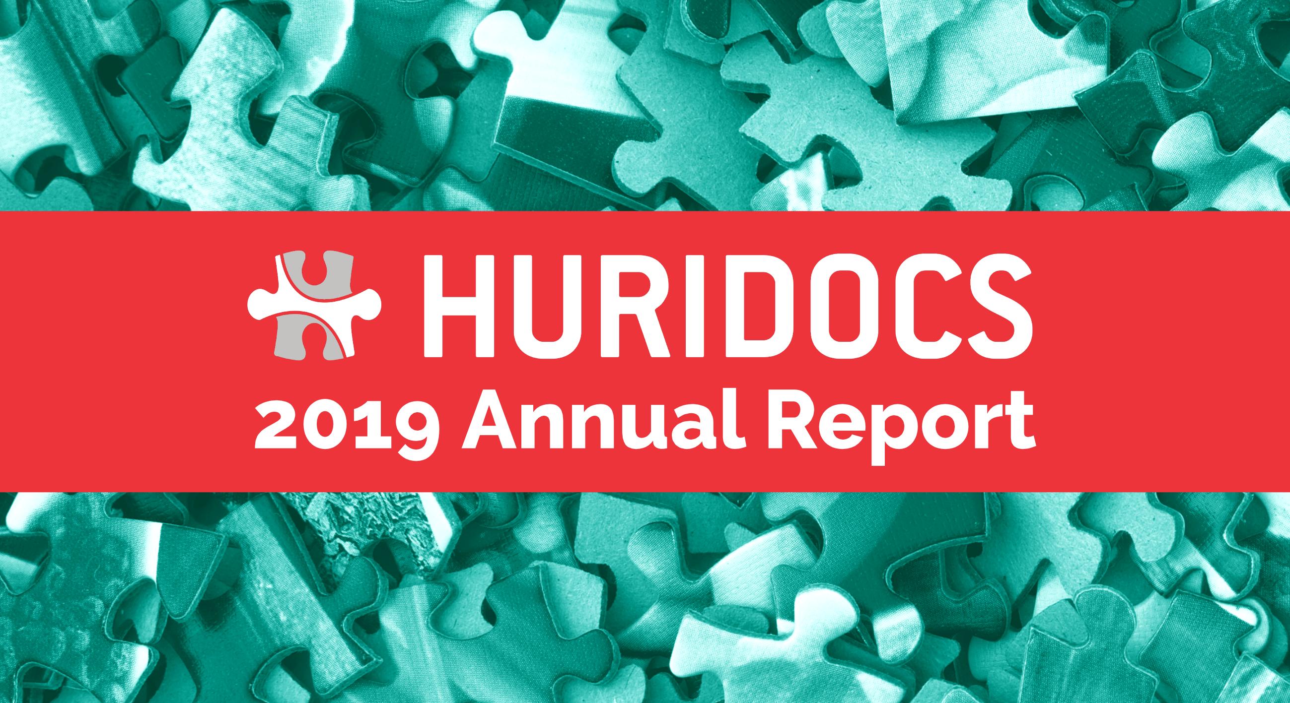 HURIDOCS 2019 Annual Report