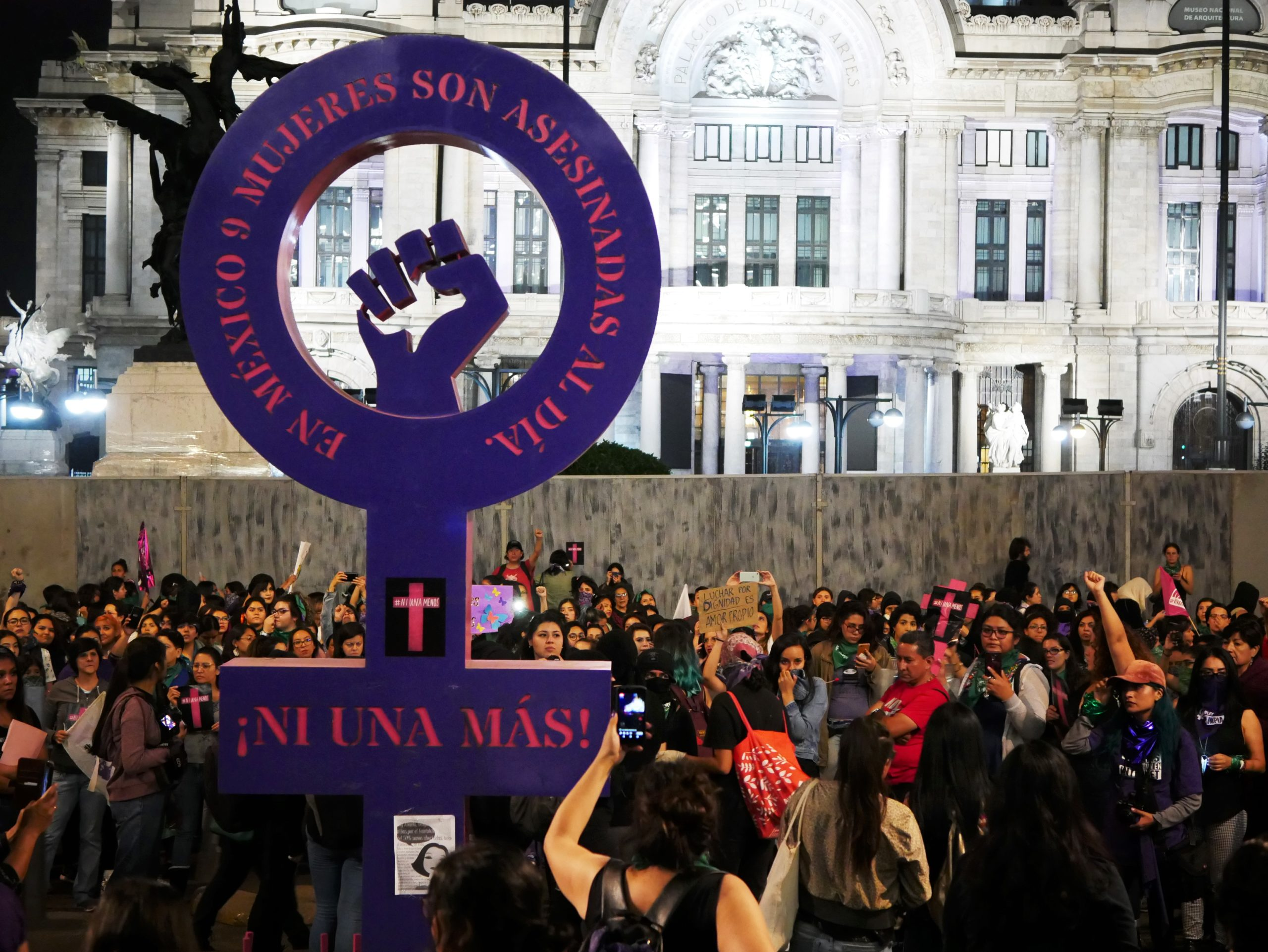 International Day for the Elimination of Violence against Women 2019 march in Mexico City